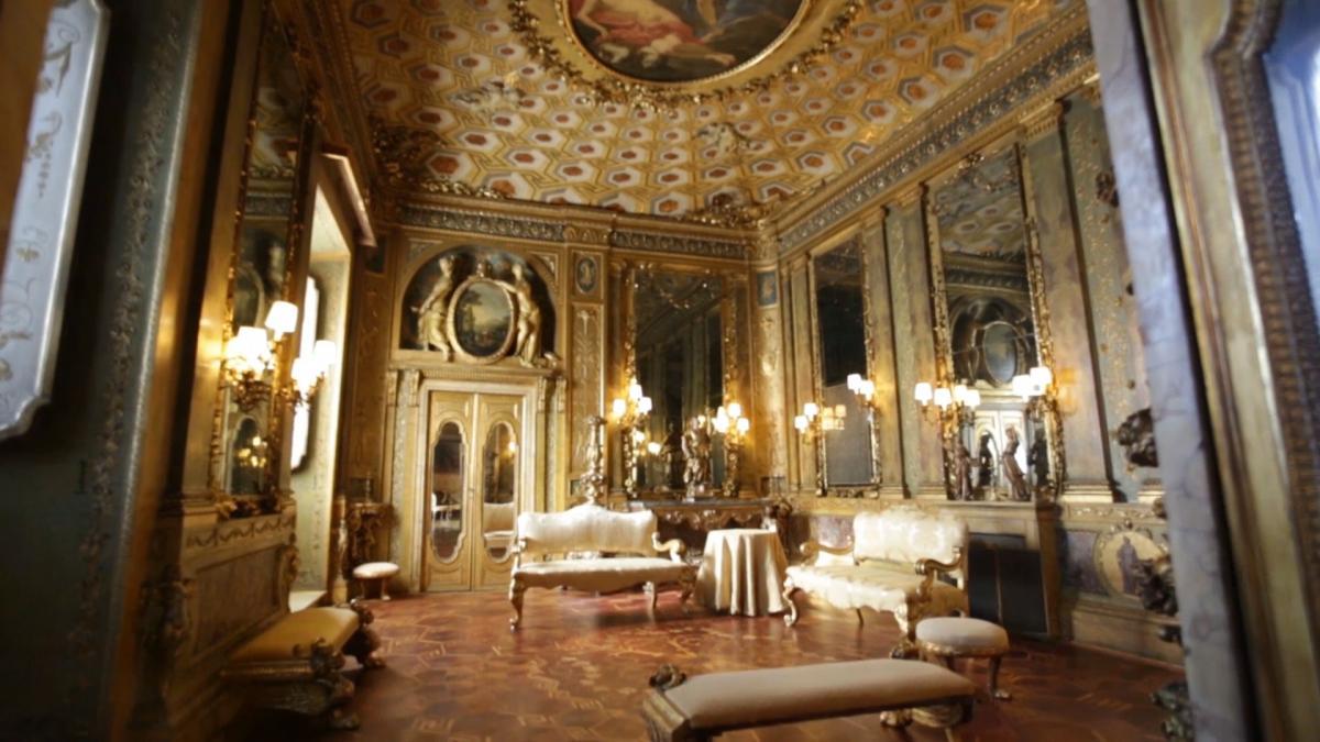 Pareti Doro : Il salone doro www.governo.it
