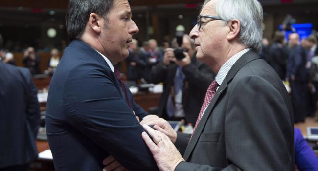 Vertice Ue - Turchia, partecipazione del presidente del Consiglio Renzi