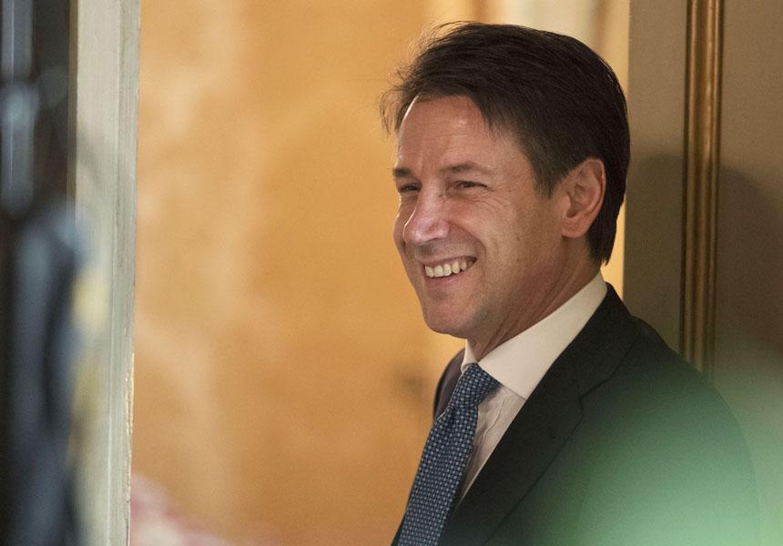 860 600 FIL1705 0 - Il Presidente Conte riceve l'Ambasciatore degli Stati Uniti Eisenberg