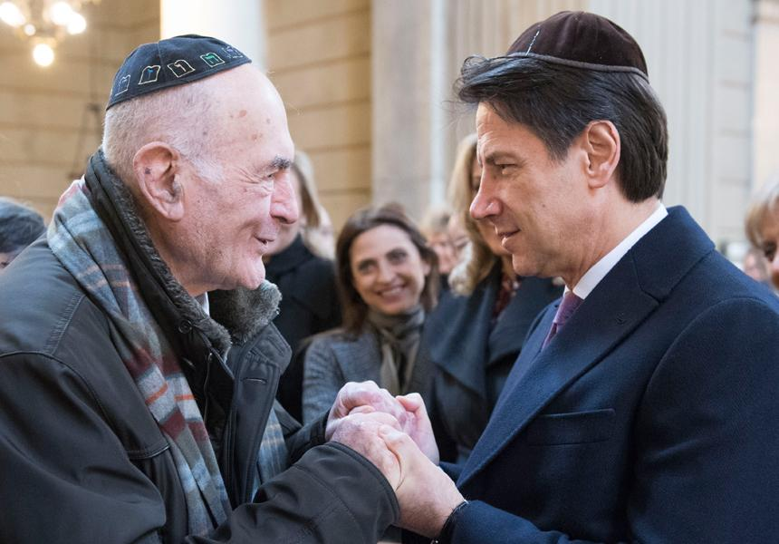 Prime Minister Conte meets with the Jewish Community of Rome - m5stelle.com - notizie m5s