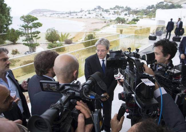 Punto stampa del Presidente Gentiloni