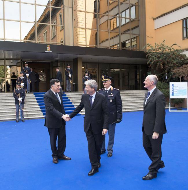 Il Presidente Gentiloni partecipa alla Conferenza sulla Rotta del Mediterraneo