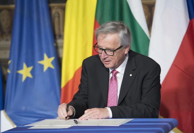 #EU60 La Cerimonia - Ceremony