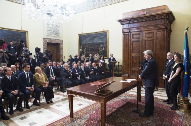 Cerimonia dei Sottosegretari di Stato