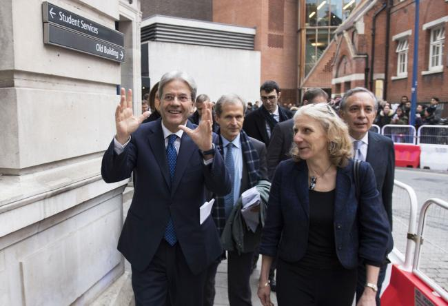 Gentiloni alla London School of Economics and Political Science
