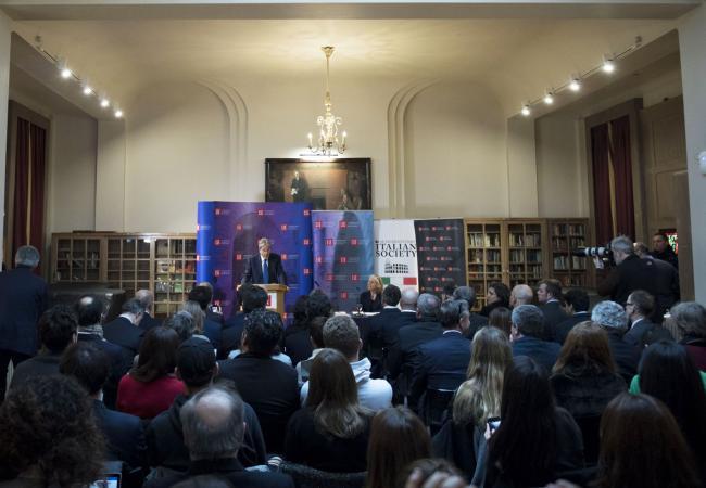 Gentiloni alla London School of Economics and Political Science