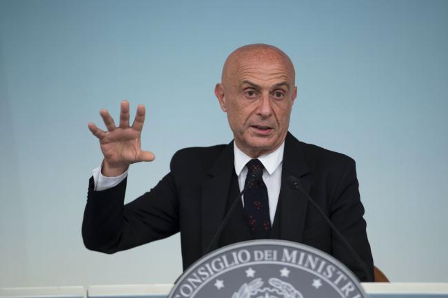 Consiglio dei Ministri n.12, Gentiloni, Pinotti, Orlando e Minniti in sala stampa