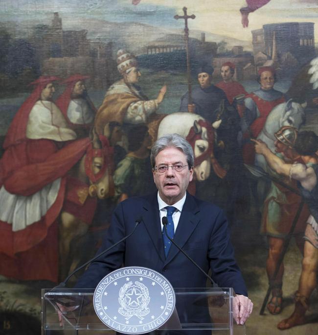 L'intervento del Presidente Gentiloni alla cerimonia di firma del Memorandum d'intesa sul Reddito di inclusione