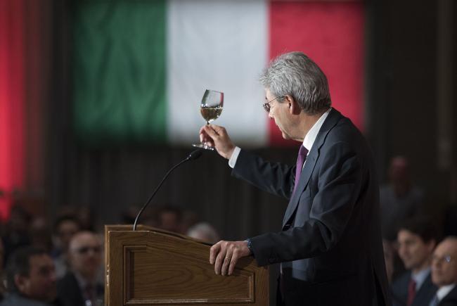 Il Presidente del Consiglio Paolo Gentiloni ad Ottawa