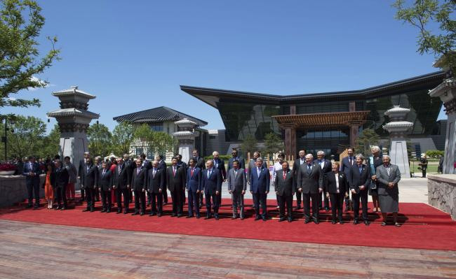 "Gentiloni partecipa al ""Belt and Road Forum for International Cooperation"""