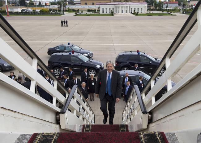 Il Presidente Gentiloni lascia la Russia