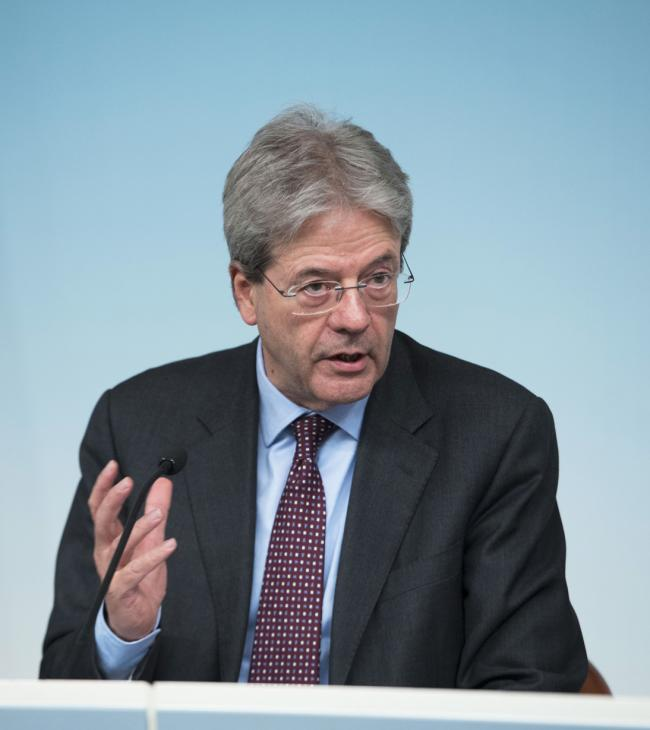Gentiloni in conferenza stampa
