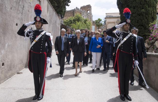 Gentiloni e i Leader G7 si trasferiscono all'Hotel San Domenico
