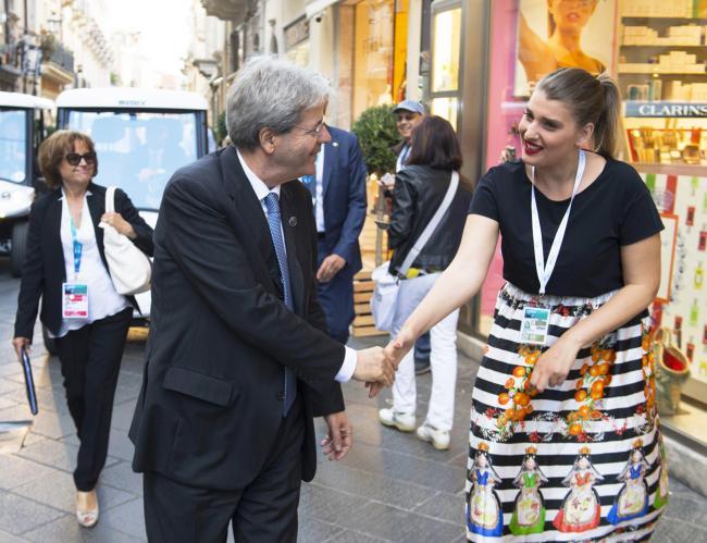 Gentiloni a Taormina per il Summit G7