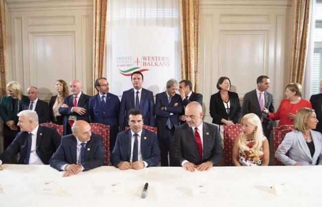 Trieste Summit, Cerimonia di firma del Trattato comunitario sui trasporti