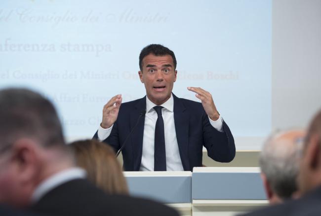 """Conferenza stampa su """"Infrazioni, frodi, aiuti di stato Ue 2014-2017: tre anni e mezzo di risultati e risparmi record"""""""