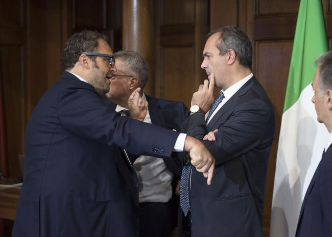 Bagnoli, Gentiloni presiede la cabina di regia