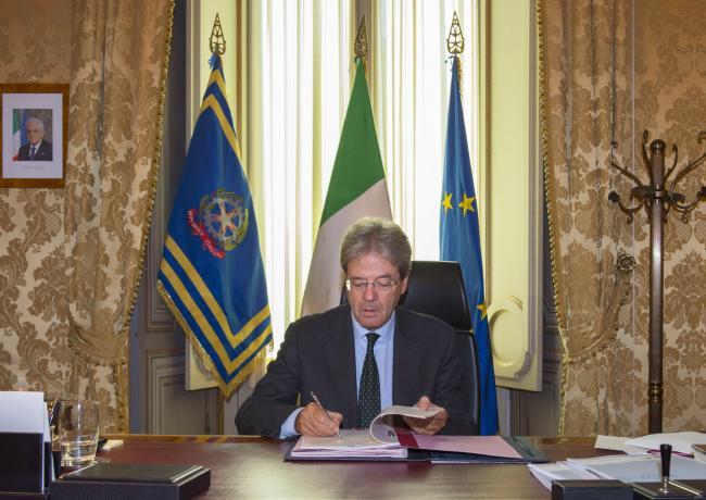 Ape volontaria, Gentiloni firma il Dpcm