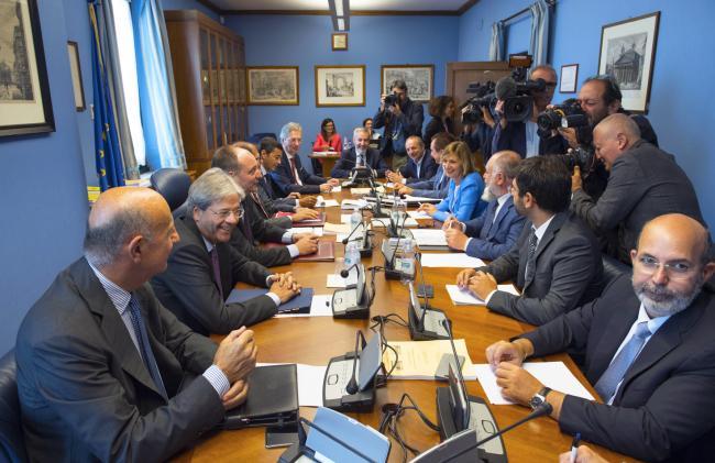 Audizione del Presidente Gentiloni al Copasir