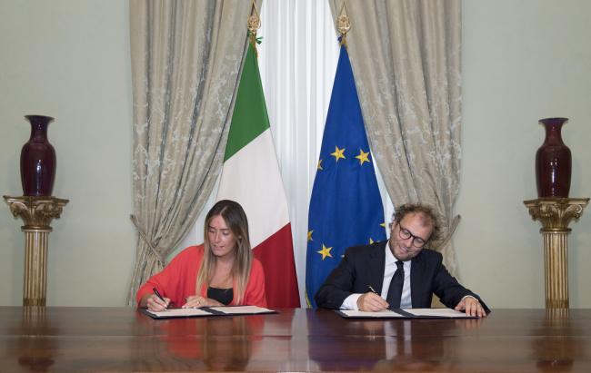Boschi e Lotti firmano intesa su inclusione sociale e sport
