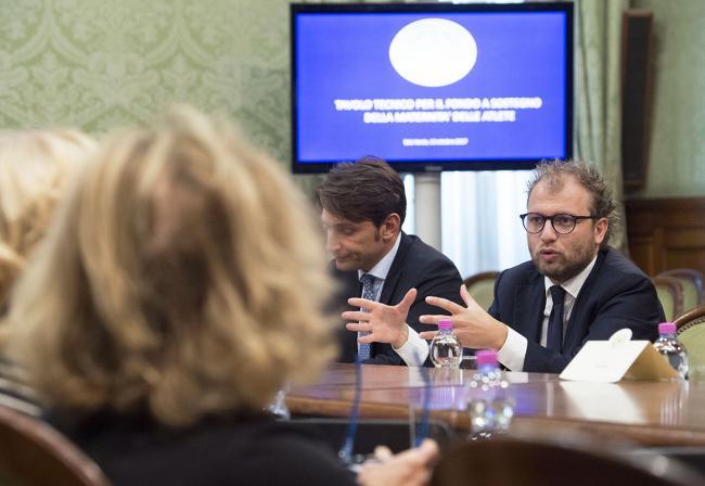 """Lotti e Boschi al """"Tavolo tecnico per il fondo a sostegno della maternità delle atlete"""""""