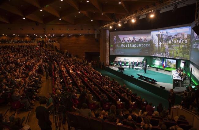 Gentiloni interviene all'Assemblea annuale dell'Anci