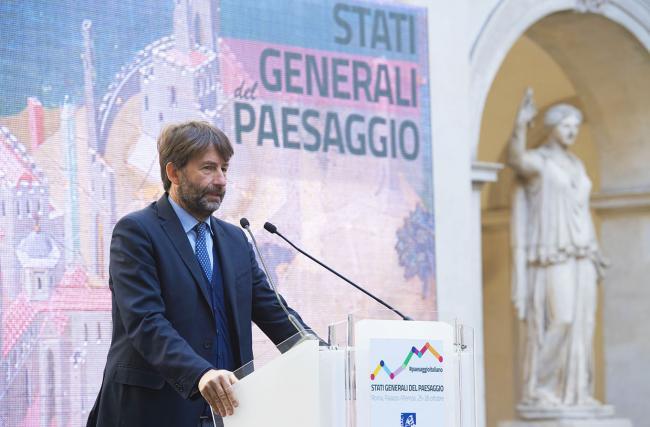 Il Ministro Franceschini interviene agli Stati Generali del Paesaggio