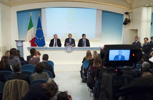 Presentazione della Strategia energetica nazionale