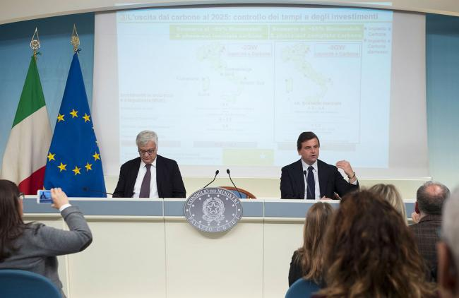 I Ministri Calenda e Galletti presentano la Strategia energetica nazionale