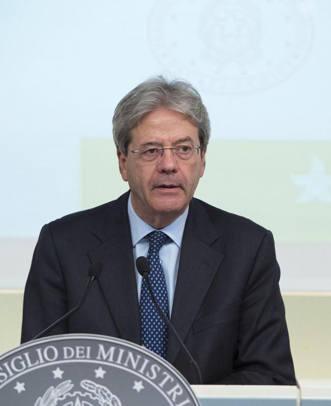 Il Presidente Gentiloni alla presentazione della Strategia energetica nazionale