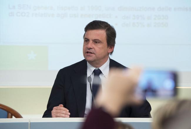 Il Ministro Calenda alla presentazione della Strategia energetica nazionale