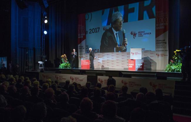 Gentiloni interviene all'Annual Meeting Medici con l'Africa CUAMM