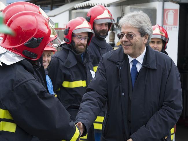 Il Presidente Gentiloni visita lo stabilimento Basf di Pontecchio Marconi