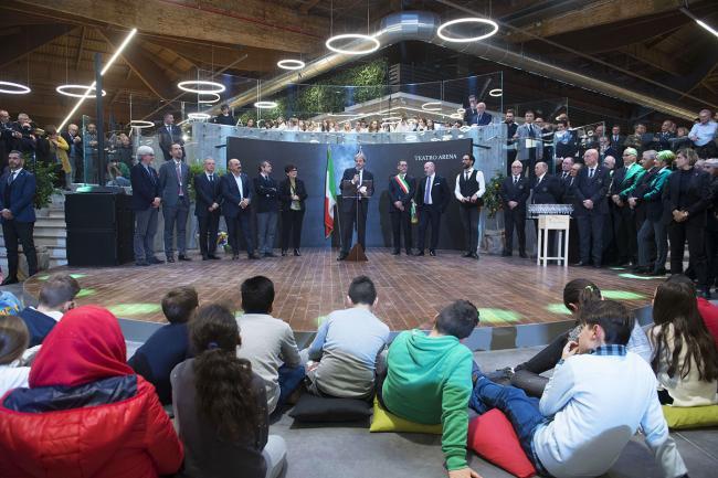 Il Presidente Gentiloni interviene all'inaugurazione di Fico Eataly World