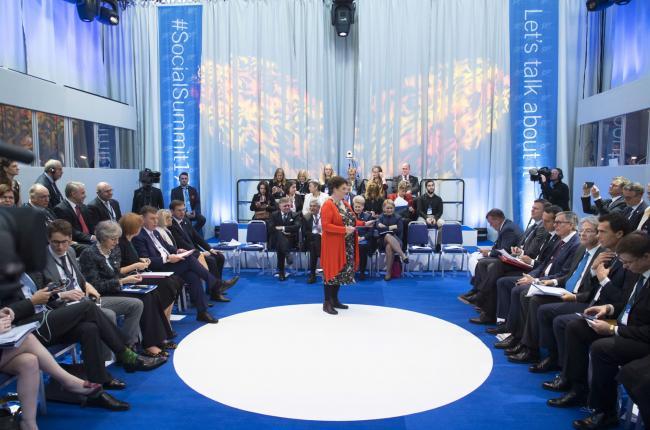 Gentiloni a Göteborg per il Summit sociale