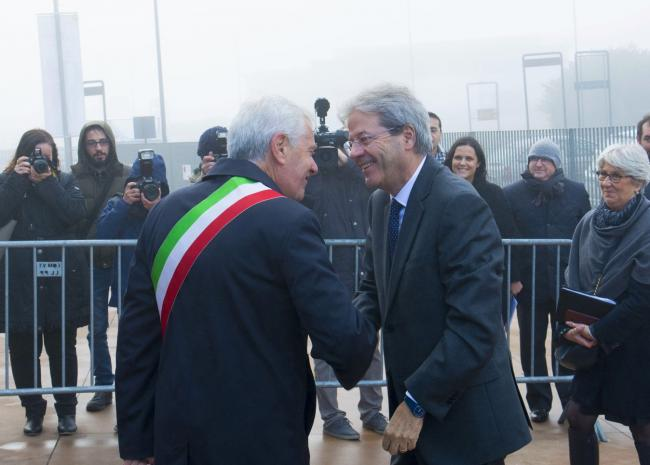 Gentiloni a Viterbo