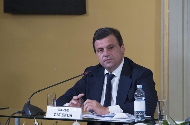 """Il Ministro Calenda all'incontro """"Italsimpatia, italofonia: dal brand alla lingua"""""""