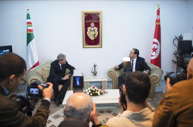 Il Presidente Gentiloni a Tunisi