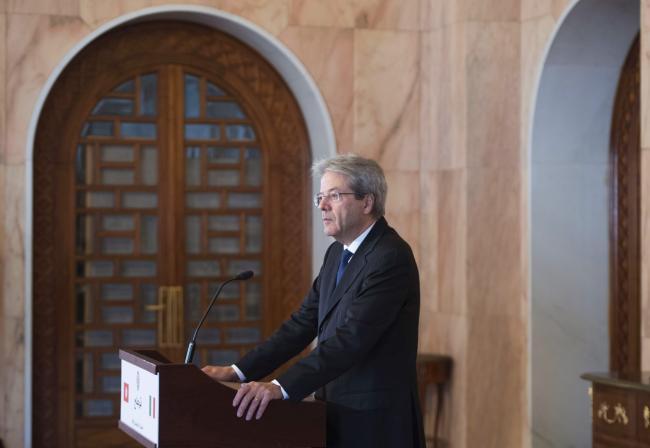 Dichiarazioni alla stampa del Presidente Gentiloni