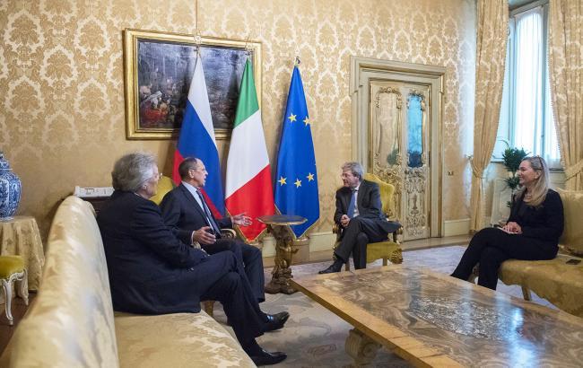 Gentiloni incontra Lavrov