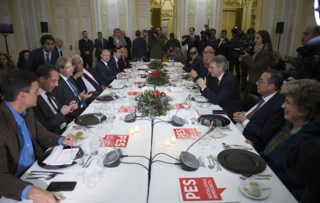 Riunione preparatoria al Consiglio Europeo del Partito dei Socialisti europei