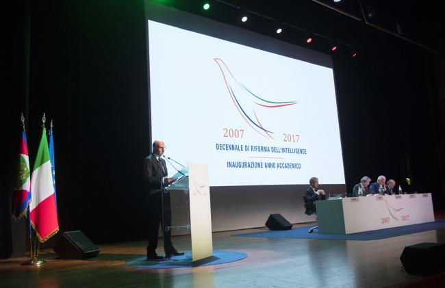 Alessandro Pansa al Decennale di riforma dell'intelligence