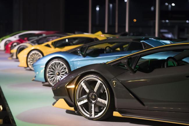 Presentazione del nuovo modello Lamborghini