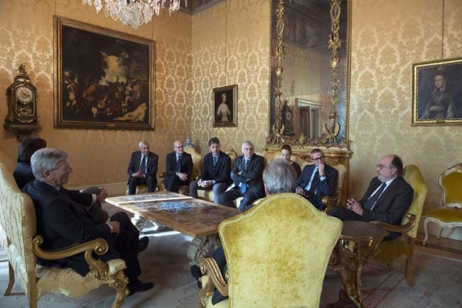 Gentiloni incontra i rappresentanti dei giornalisti