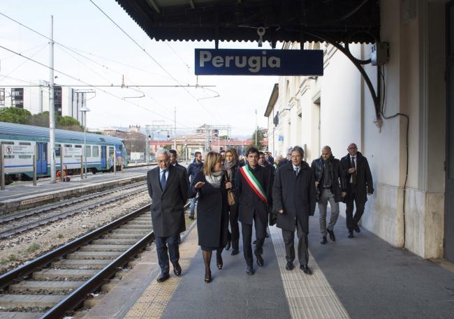 Gentiloni alla cerimonia di firma dei Bandi Periferie di Perugia e Terni