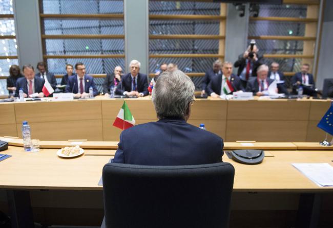 Gentiloni a Bruxelles, incontro con i Paesi Visegrad