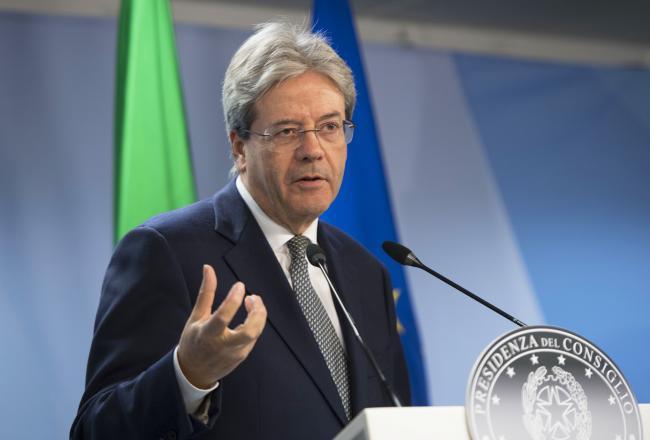 Consiglio europeo, Gentiloni in conferenza stampa