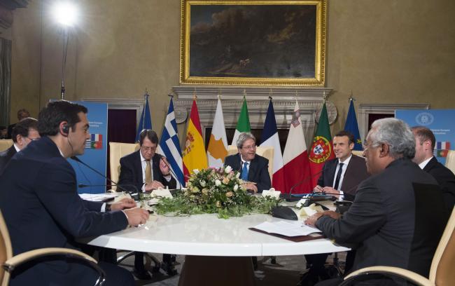 4° Vertice dei Paesi del Sud dell'Ue , la sessione di lavoro