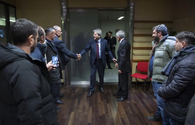 Gentiloni incontra i rappresentanti dei lavoratori della Embraco