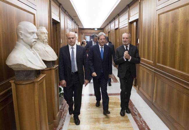 Il Presidente Gentiloni alla Corte dei Conti